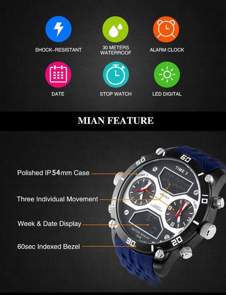 2 montre sport double temps (2)