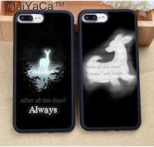 MaiYaCa Harry Potter After All This Time Always Soft TPU Skin Phone Cases For iPhone 7 7 Plus 6 6S Plus 5 5S 5C SE 4S Case Cover(China)