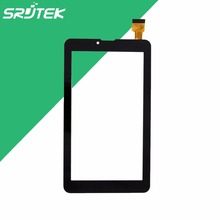 Best Price! 7 inch for Explay Hit 3G Black Touch Screen Digitizer Glass Sensor Panel Tablet PC Repairment Parts+Free shipping(China)