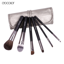 Docolor makeup brushes 6pcs Goat Hair Professional makeup brush set Eye Shadows Eyeliner Nose Smudge make up brushes free ship