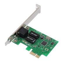 KEBETEME 10/100/1000Mbps Ethernet PCI Express PCI-E Network Controller Card  RJ45 Lan Adapter Converter FOR  Desktop PC Computer