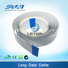 On Sales!Zhongye advertising printer 14P and 6.1m different surface shielded cable