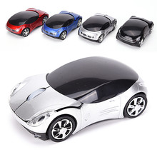 Wireless Optical Mouse Car Model Shaped Mause Game 1600DPI for PC Laptop