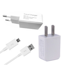Travel EU/US plug USB 2.4A Charger Adapter & micro usb charge cable samsung S4 s5 s6 s7 meizu m3s Leago m5 doogee x5 max pro - CIMAY'S STORE store