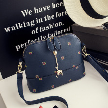 2017 Summer New Fashion Female Messenger Bag Double Zippers Shell Bag Leisure Women Shoulder Bag Small Crossbody Bags