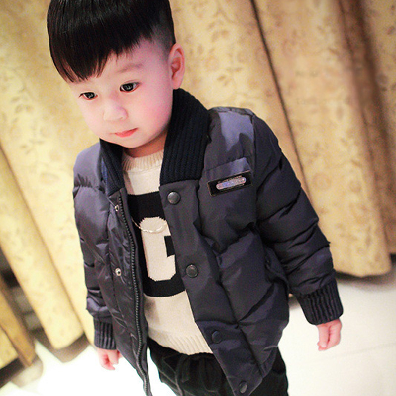 kids boy winter parka down coat sweater V-neck collar for boys jackets children thicken windbreaker down jacket baby clothesОдежда и ак�е��уары<br><br><br>Aliexpress