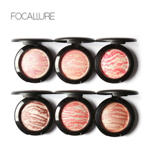 Focallure 2017 Hot Sale Face Beauty Makeup Light and Delicate Natural Long-lasting Shimmer Baked Blusher Cosmetic Palette