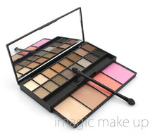 IMAGIC Makeup Faced Sweet Peach Eyeshadow Palette Eye Shadow Palette Blush Palette Better Palette Set 20 Colors(China)