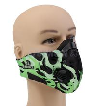 PM2.5 Smog Antibacterial Filter Dustproof Cycling Motorcycle Running Face Mask Anti-pollution Bike Mask