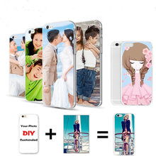 DIY Custom Name Photo Cover Case For HTC ONE E9 Plus Fashion Painted Cool Design Back Cover Shell Skin Phone Bags Protector