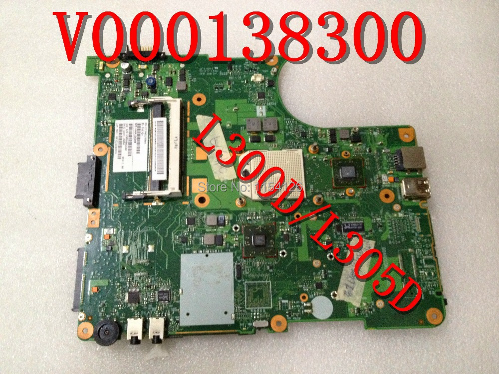 Original laptop motherboard for TOSHIBA SATELLITE L300D L305D series V000138300 INTEGRATED DDR2 100% TESTED