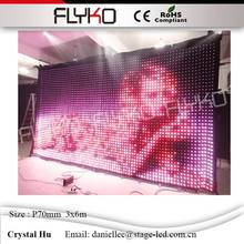 China display screen film display sexy girl video high brigtness led wall for stage p70mm(China)