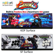 New Pandora box 5 960 in 1 arcade control kit joystick usb buttons zero delay 2 players HDMI VGA arcade console controller TV pc(China)