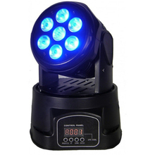 Hot Sell RGBW wash 84w 4 in 1 LED Mini Moving Head Light with 7x12W LED Stage Light for club DJ disco bar party and Show