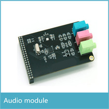 High quality WM8731 Audio Module with MIC Line Earphone compatible with FPGA Board(China)