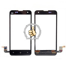 Black White Front Glass Lens + Touch Screen Digitizer For Xiaomi Mi2 Replacement for Mobile Phone LCD Screen Case
