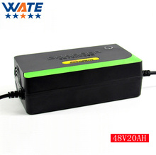 48V 1.8A lead acid battery Charger 48V Electric bicycle charger  for 48V 20ah lead acid battery charger Free Shipping