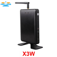 Partaker Wireless Thin Client Cloud Point Network Terminal X3W with A9 Dual Core 1.5Ghz 1G RAM 4G Flash RDP 7.1 Protocol