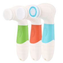 7 In1 USB  Electric Rotating Facial Cleansing Brush Face Cleaners Scrubber Rotating Rotation Face Massager Tools