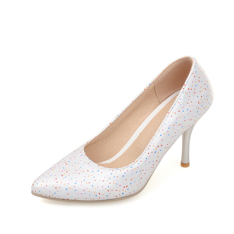 2017 new Plus Size 35-44!!! 2014 Fashion Sexy Pointed Toe Sweet Colorful Thin High Heels Hot Sale Woman Shoes Womens Pumps Nude<br><br>Aliexpress