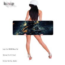 Free High Quality Gaming Mouse Pad for Cs Dota2 World of Tanks Brand Sewing Edge Computer Gaming Mousepads Gamer Mause Mat Gift