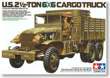 TAMIYA 1/35 scale models 35218 World War II US 2.5-ton 6X6 truck