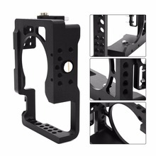 Buy Aluminum Alloy Camera Cage Sony A6500 ILDC Camera High ILDC Camera Video Camera Cage Protective Frame for $44.99 in AliExpress store