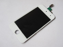 For iPod Touch 4th Generation LCD Screen and Digitizer Assembly with Home Button White