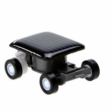 Smallest Mini Car Solar Powered Toy Car New Mini Children Solar Toy Gift Baby Kid Solar Car Toy(China)