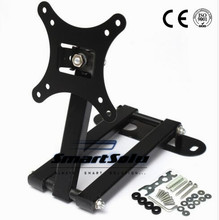 New 10-26 LCD LED TV PC Monitor Wall Mount Bracket Corner Tilt Swivel Holder VESA 75 100 Tilt Swivel For LG For Samsung Plasma(China)