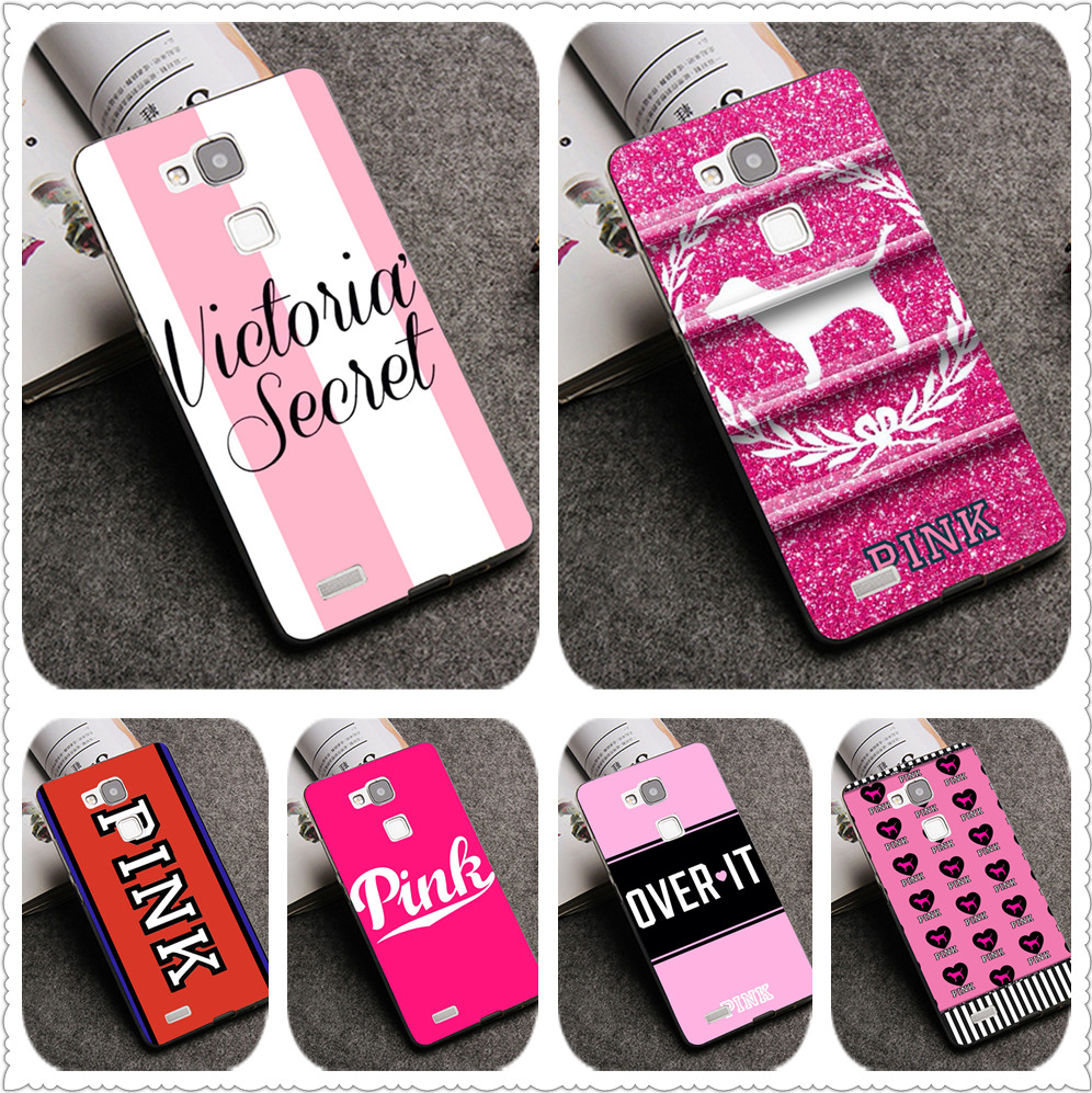 PINK VS Brand NEW Victoria TPU Patterned Case For Huawei P20 Mate 10 P10 Lite P20 Pro P8 P9 Lite 2017  Cover