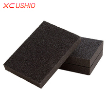 2pcs/lot Thin Descaling Cleaning Sponge Super Strong Kitchen Removing Rust Sponge Nano Emery Magic Sponge Rust Remover Eraser(China)