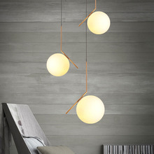 Flos glass ball pendant light modern pendant lamp for living room/bedroom/dinning room art deco lampara indoor use(China)