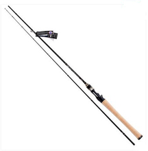 Tsurinoya Casting Fishing Rod 2.1/1.95M M/ML power FUJI Ring Soft Bait Carbon Rod Trolling Rod Pesca PRO FLEX IIC702M/C652ML(China)