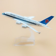 16cm Alloy Metal Air China Southern Airlines Airbus 380 A380 Airways Plane Model Aircraft Airplane Model w Stand(China)