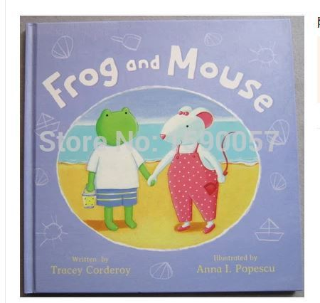 Free shipping 2015 New Hot Saler Original childrens picture books Frog And Mouse English childrens book<br><br>Aliexpress