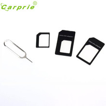 Good Sale Convert SIM Card to Micro Standard Adapter For iPhone 5 Free shipping Apr 1