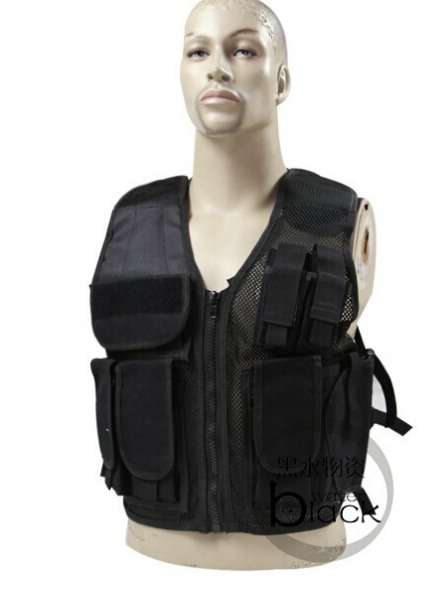 Protective equipment Army fans outdoor breathable mesh fishing vest<br>