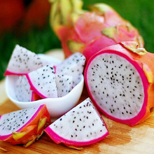 200 PCS Pitaya Seeds Perennial Plants Fruit Tree Anti-aging White Dragon Fruit Seeds for Home & Garden
