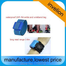 700pcs/lot 860-960mhz waterproof 1-6m read range uhf rfid wristband for marathon swimming triathlon chip timing system(China)