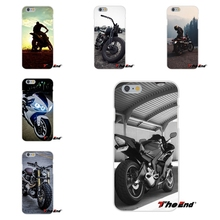 For iPhone X 4 4S 5 5S 5C SE 6 6S 7 8 Plus Galaxy Grand Core Prime Alpha Love Cool Motorcycle Motorbike Soft Silicone Case(China)