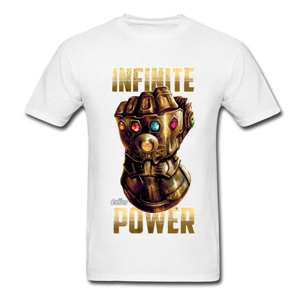 Star War Infinite Power Summer/Fall Pure Cotton Round Neck Tees Short Sleeve Funny Tops Tees 2018 Newest Summer T-Shirt Infinite Power white