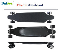2017 New Wireless Bluetooth Control 4 Wheel Electric Skateboard Scooter Hoverboard Longboard Dual Motors 30 KM/H with carry bag(China)