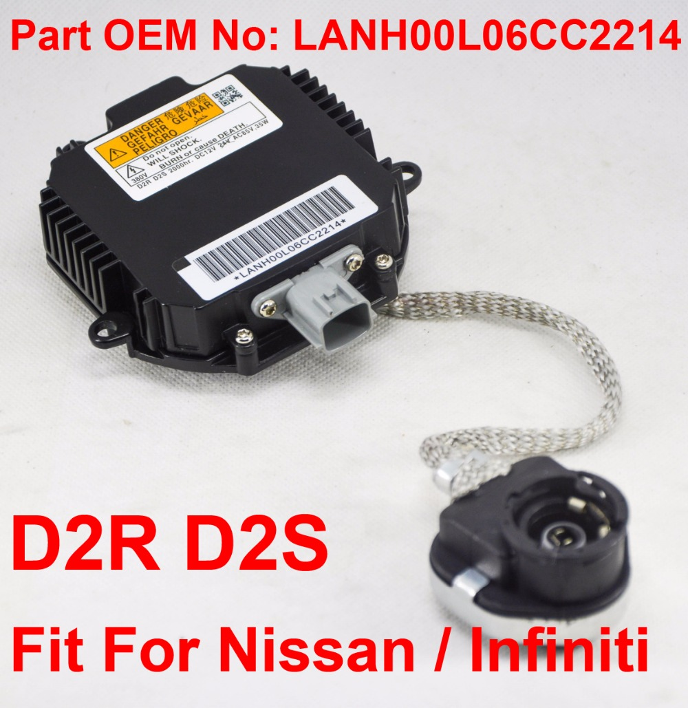 OEM HID Xenon Headlight Ballast /& Igniter /& D2S Bulb For Nissan Infiniti Mazda
