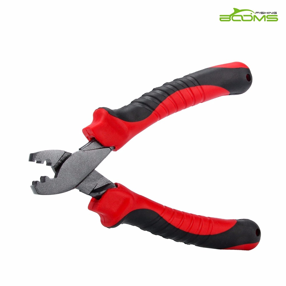 Booms Fishing CP2 Fishing Crimping Tool for Single-Barrel Sleeves fishing tool<br>