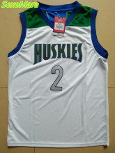 2017 Mens SexeMara Lonzo Ball Jerseys Cheap Throwback Basketball Jerseys #2 Chino Hills Huskies High School Retro Shirts For Men
