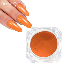 1g/Box Dipping Powder Without Lamp Cure Nails Dip Powder Summer Gel Nail Orange Color Powder Natural Dry Decorations(China)