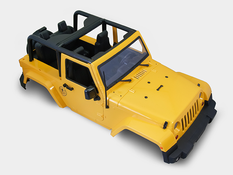 Sales Promotion of 1/10 Scale RC Truck HARD Body Shell 1:10 JEEP WRANGLER RUBICON TOPLESS for SCX10/D90<br><br>Aliexpress