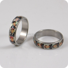 HOT 36x EXO Band member Korean S.M.Entertainment Company Stainless Steel Finger Ring Fashion Jewelry Wholesale