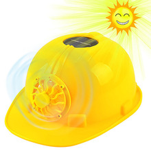 New Solar Energy Cooling Fan Safety Helmet For Construction Work Protect Helmets Hard Hat